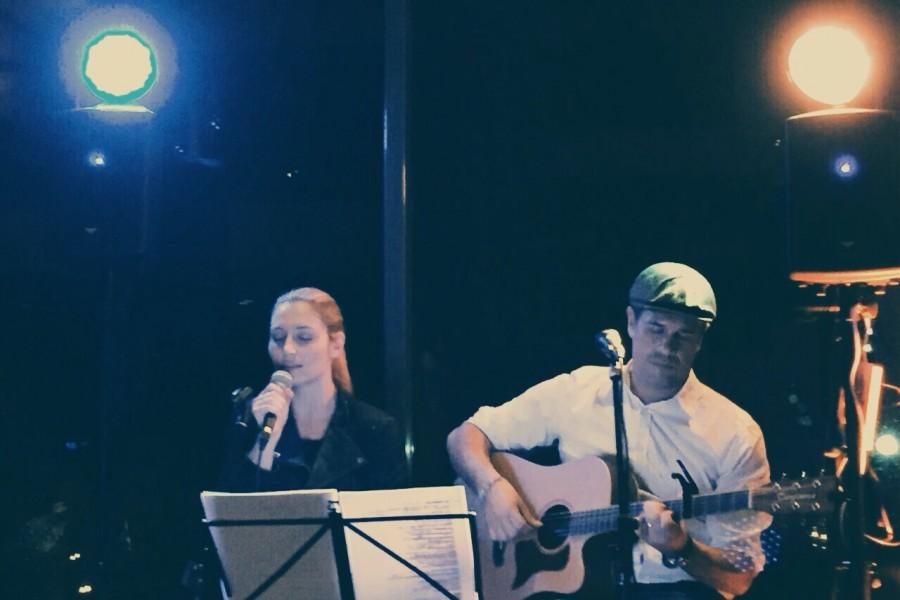 Die Band Eisbach im Café Ludwig
